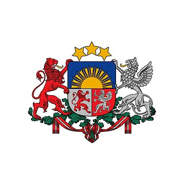 Coat of arms of Latvia by fourretout