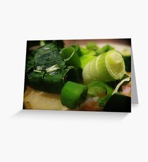 Sliced and Diced Greeting Card
