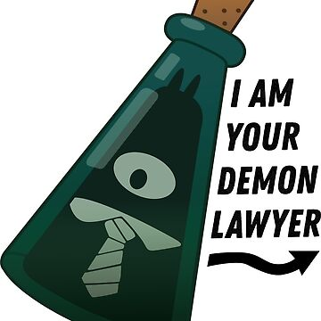 I am your demon lawyer!  by Poogz