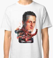 Michael Schumacher low poly Classic T-Shirt
