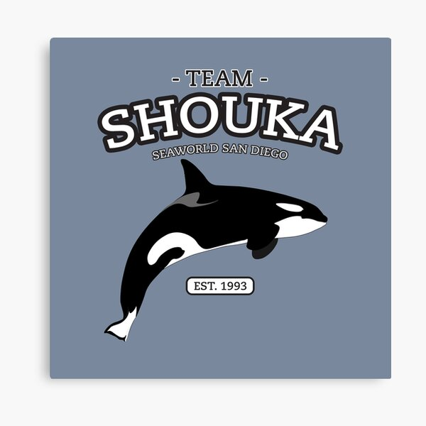 Team Shamu - Shouka Canvas Print