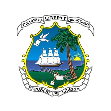 Coat of arms of Liberia by fourretout