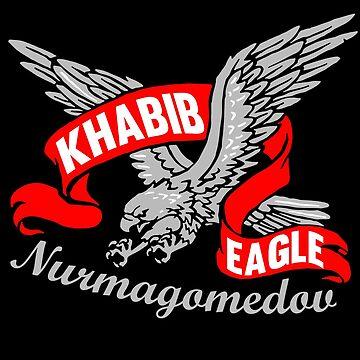 "Khabib Nurmagomedov ""The Eagle"" Champion by bibinik"