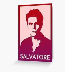 Stefan Salvatore Greeting Card