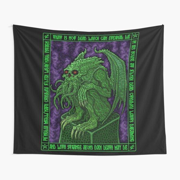 Cthulhu Icon - Azhmodai 2018 Tapestry