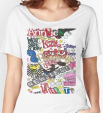 Broadway Shows collage Women's Relaxed Fit T-Shirt