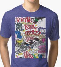Broadway Shows collage Tri-blend T-Shirt