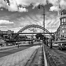 Newcastle Quayside - Northumberland  by David Lewins