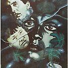 The Mirror by Andrei Tarkovsky, polish poster by przezajac