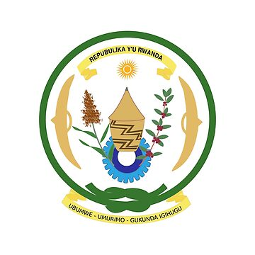 Coat of arms of Rwanda by fourretout