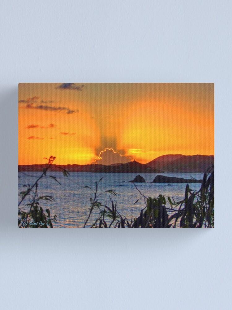 Alternate view of St. Thomas Sunset Canvas Print