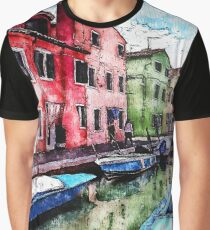 Burano, Italy Graphic T-Shirt