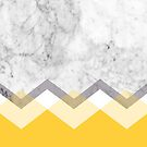 Mustard and Marble Graphic  by Natalie Tyler