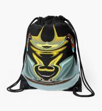 contemporary techno art 1020 Drawstring Bag
