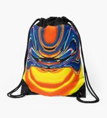 contemporary techno art 1026 Drawstring Bag