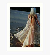 Aalia Baladi Wings on the Dunes  Art Print