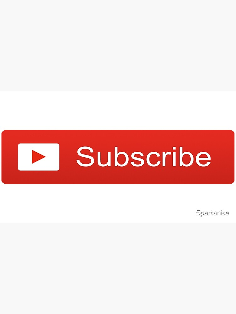 YouTube Subscribe Button by Spartanise