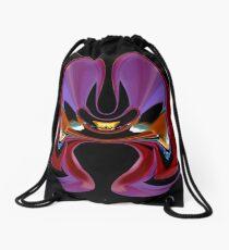contemporary techno art 1033 Drawstring Bag