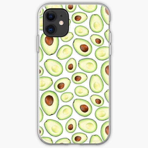 Avocado Split iPhone Soft Case