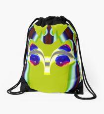 contemporary techno art 1038 Drawstring Bag