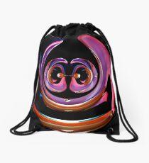 contemporary techno art 1043 Drawstring Bag