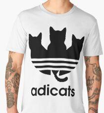Adicats - Addicted to cats Men's Premium T-Shirt