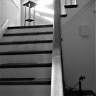 Light at the top of the stairs by Barbara Morrison