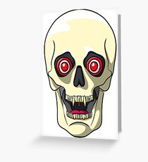 Dr Vampire Skullington  Greeting Card