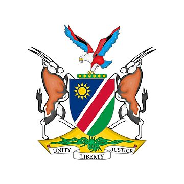 Coat of arms of Namibia by fourretout