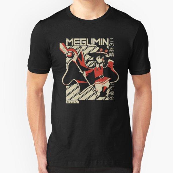 Megumin - Kono Subarashii   Anime Shirt Slim Fit T-Shirt