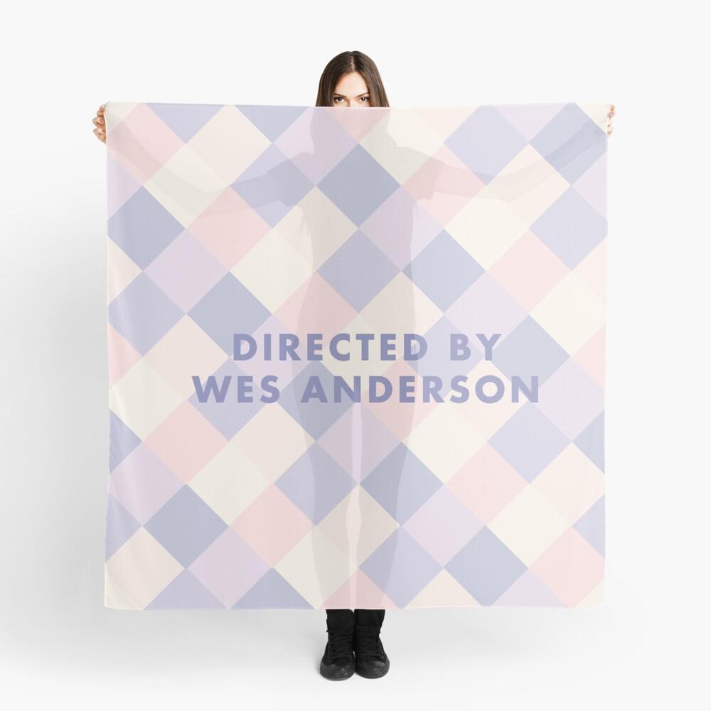 Regie: Wes Anderson-Pastelle Tuch