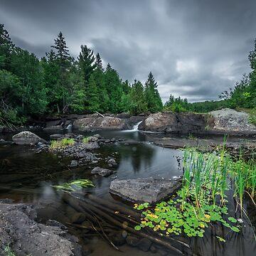 Algoma Landscape by justinrusso