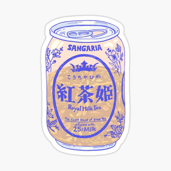 Royal Tea Sticker