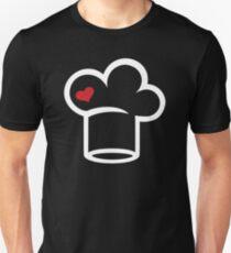 Chefs hat heart Unisex T-Shirt