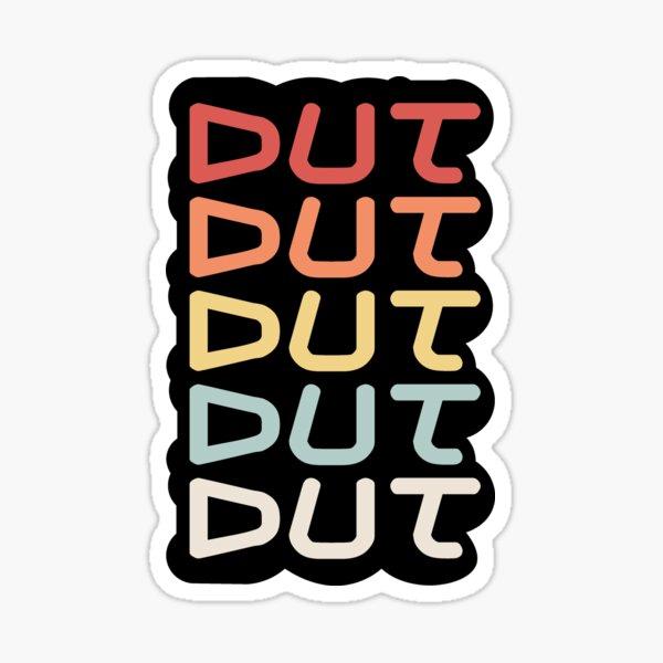 Dut Drumline Sticker