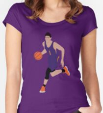 Devin Booker Women's Fitted Scoop T-Shirt