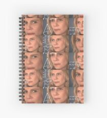 Math Confused Nazare Spiral Notebook