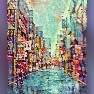 Rainy Tokyo Day by jeffreyjirwin