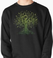 Meditate, Meditation, Spiritual Tree Yoga Pullover Sweatshirt