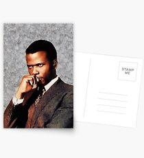Sidney Poitier, Weinlese-Hollywood-Stern Postkarten