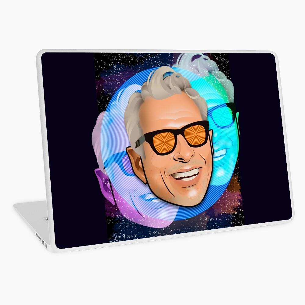 Kosmischer Goldblum Laptop Folie