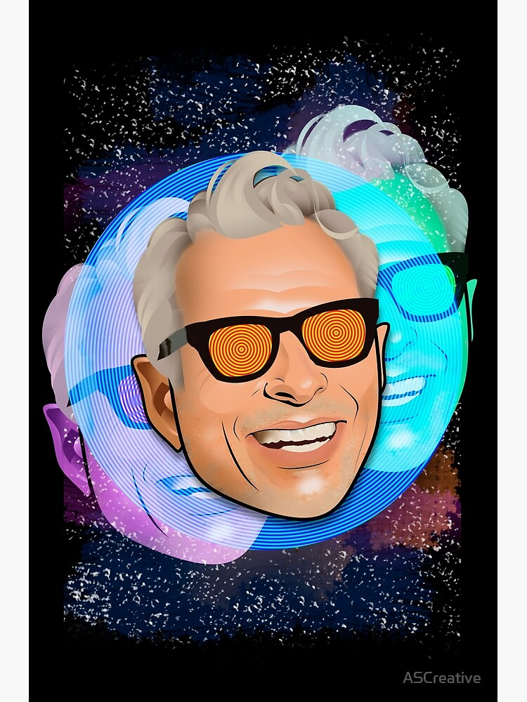 Kosmischer Goldblum von ASCreative