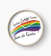 Every Student Under the Rainbow Clock