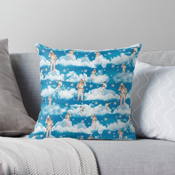 Liberace in heaven Throw Pillow