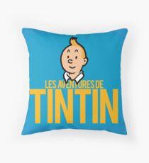 Cojín Las aventuras de Tintín - Logo