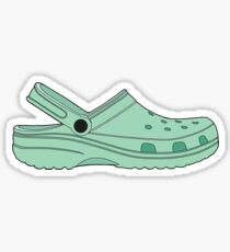 Crocs Cool Mint Shoe Clog Sticker