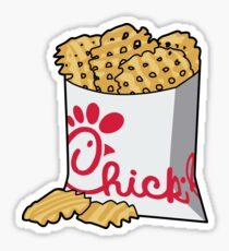 chick fil a fries Sticker