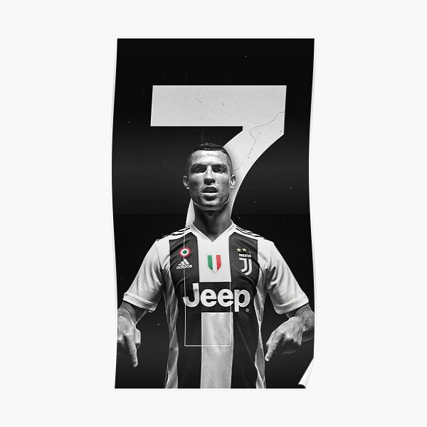 Cristiano Juventus Poster