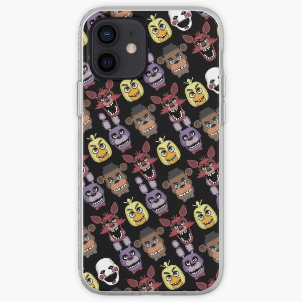 FNAF Five Nights All Over Print Multi Character iPhone Soft Case