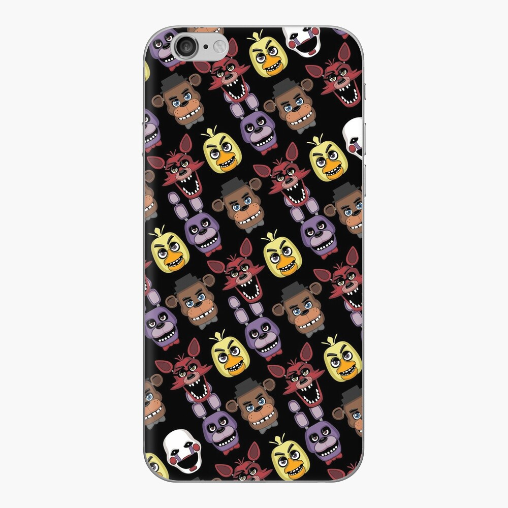 FNAF Five Nights All Over Print Multi Character iPhone Skin